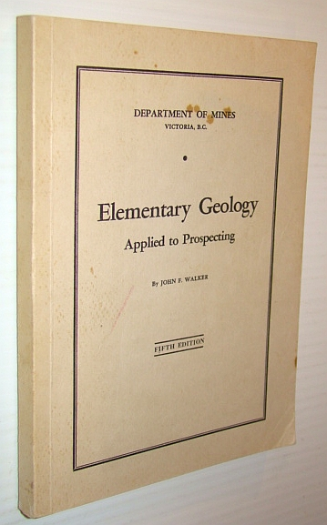 Image for Elementary Geology Applied to Prospecting