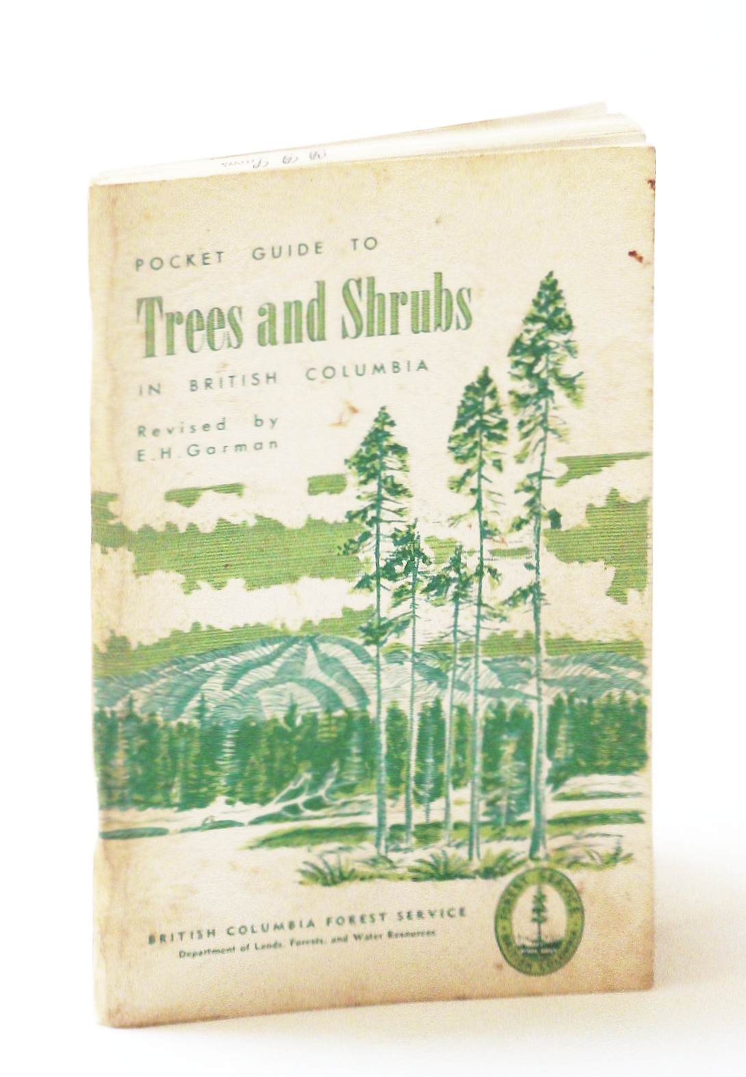 Image for Pocket Guide to Trees and Shrubs in British Columbia