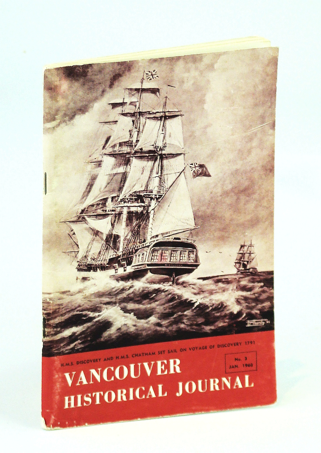 Image for Vancouver Historical Journal, No. 3, January 1960