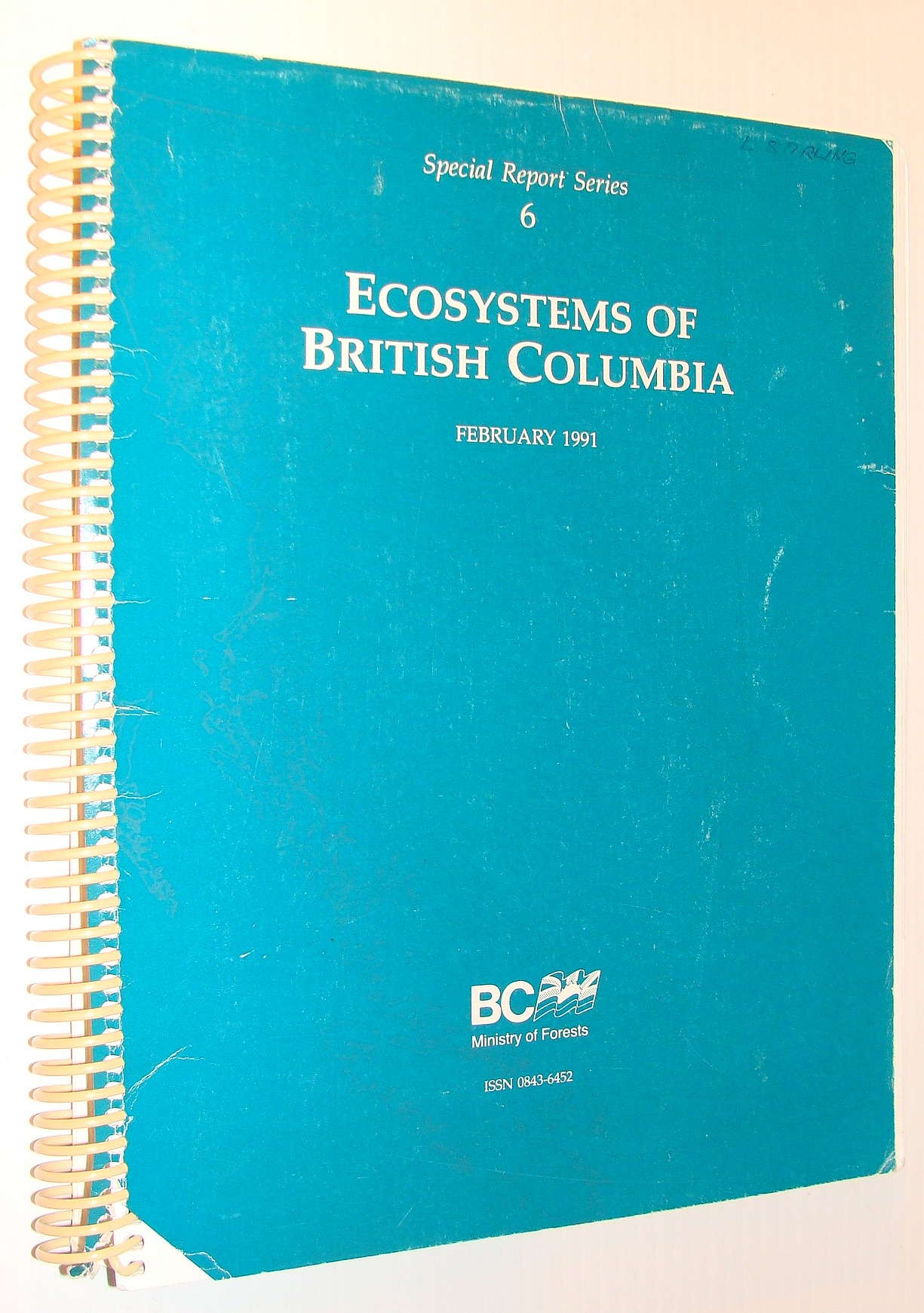 Image for Ecosystems of British Columbia (Special report series)