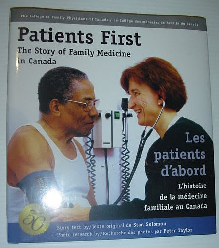 Image for Patients First : The Story of Family Medicine in Canada