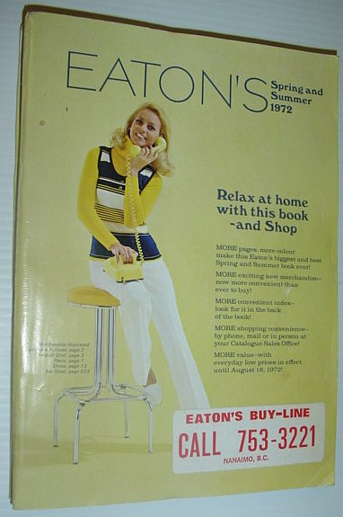 Image for Eaton's Spring and Summer 1972 Catalogue (Catalog)