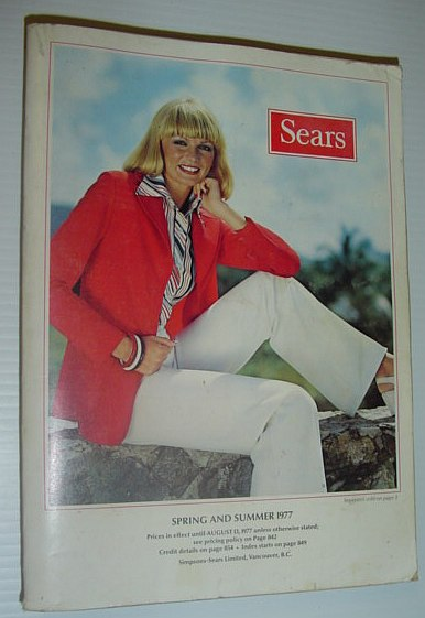 Image for Sears (Canada) Spring and Summer Catalogue (Catalog) 1977