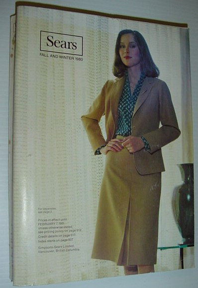Image for Sears (Canada) Fall and Winter Catalog (Catalogue) 1980