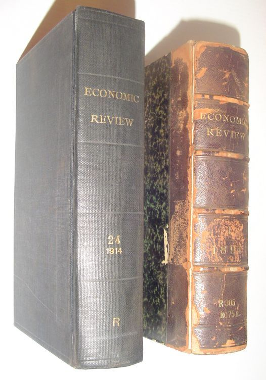 Image for The Economic Review: Complete in Twenty-Four (24) Volumes, 1891-1914