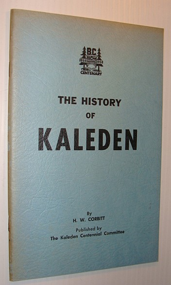 Image for The History of Kaleden (British Columbia)