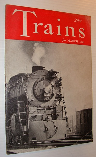 Image for Trains Magazine, March 1943, Vol. 3, No. 5 *GRAND CENTRAL STATION*