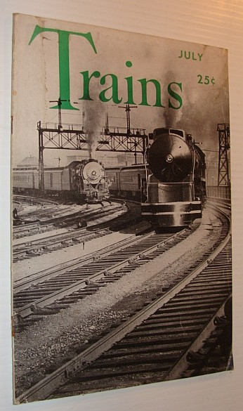 Image for Trains Magazine, July 1942, Vol. 2, No. 9