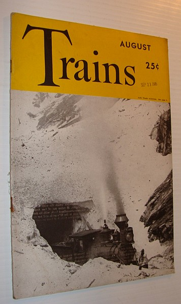 Image for Trains Magazine, August 1942, Vol. 2, No. 10