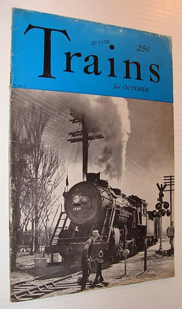Image for Trains Magazine, October 1941, Vol. 1, No. 12