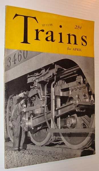Image for Trains Magazine, April 1941, Vol. 1, No. 6