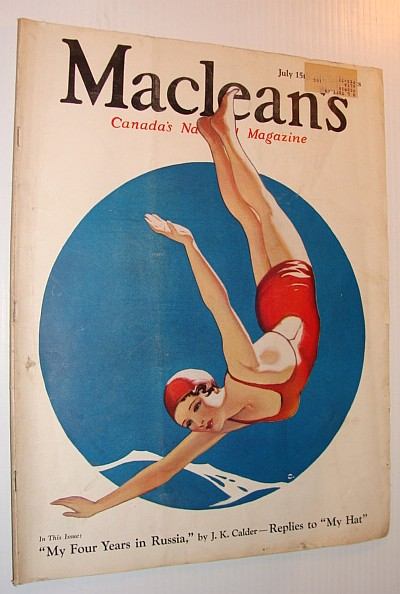 Image for Maclean's Magazine, July 15, 1933 *MY FOUR YEARS IN RUSSIA - J.K. Calder*