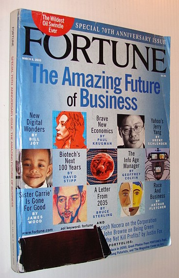 Image for Fortune Magazine, 6 March, 2000 *Special 70th Anniversary Issue - The Amazing Future of Business*