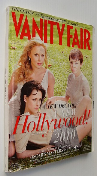 Image for Vanity Fair Magazine, March 2010, No. 595 - Cover Photo of Abbie Cornish, Kristen Stewart and Carey Mulligan