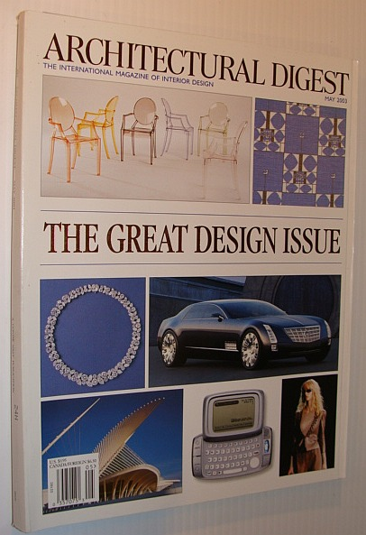 Image for Architectural Digest Magazine, May 2003 *The Great Design Issue*