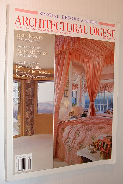 Image for Architectural Digest Magazine, February 2003 *Special Before and After Issue*