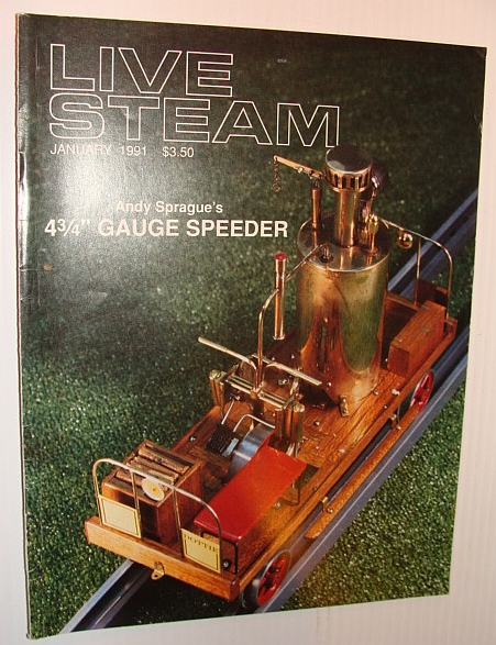 Image for Live Steam Magazine, January 1991