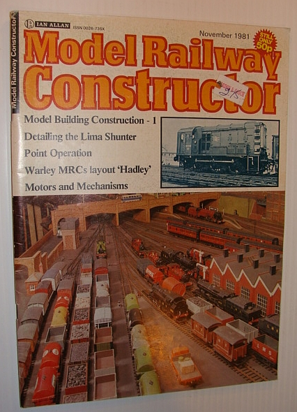 Image for Model Railway Constructor Magazine, November 1981