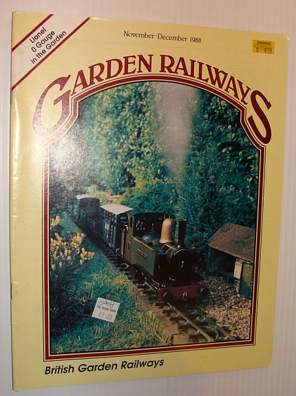 Image for Garden Railways Magazine, November-December 1988