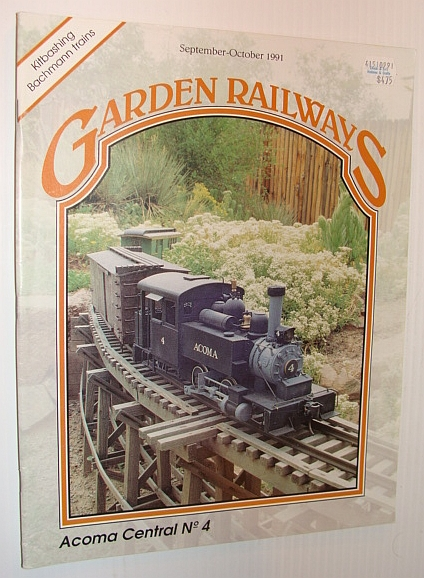 Image for Garden Railways Magazine, September-October 1991