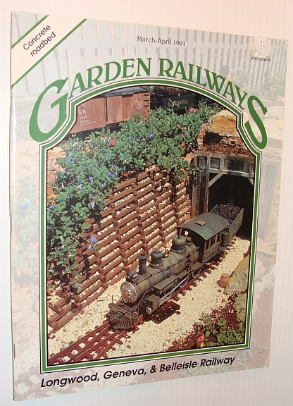 Image for Garden Railways Magazine, March-April 1991