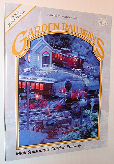 Image for Garden Railways Magazine, November-December 1992