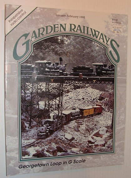 Image for Garden Railways Magazine, January-February 1992