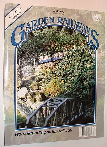 Image for Garden Railways Magazine, April 1996