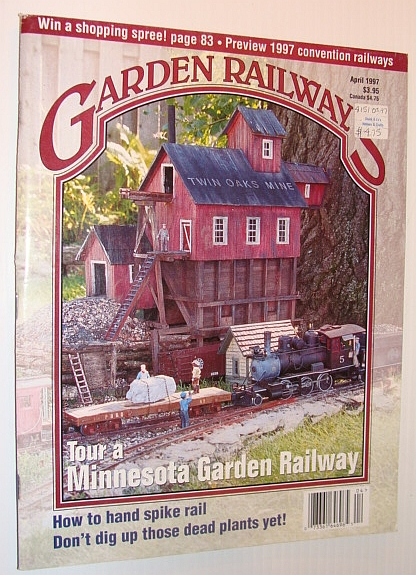 Image for Garden Railways Magazine, April 1997