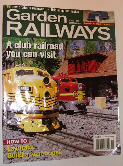 Image for Garden Railways Magazine, October 2003