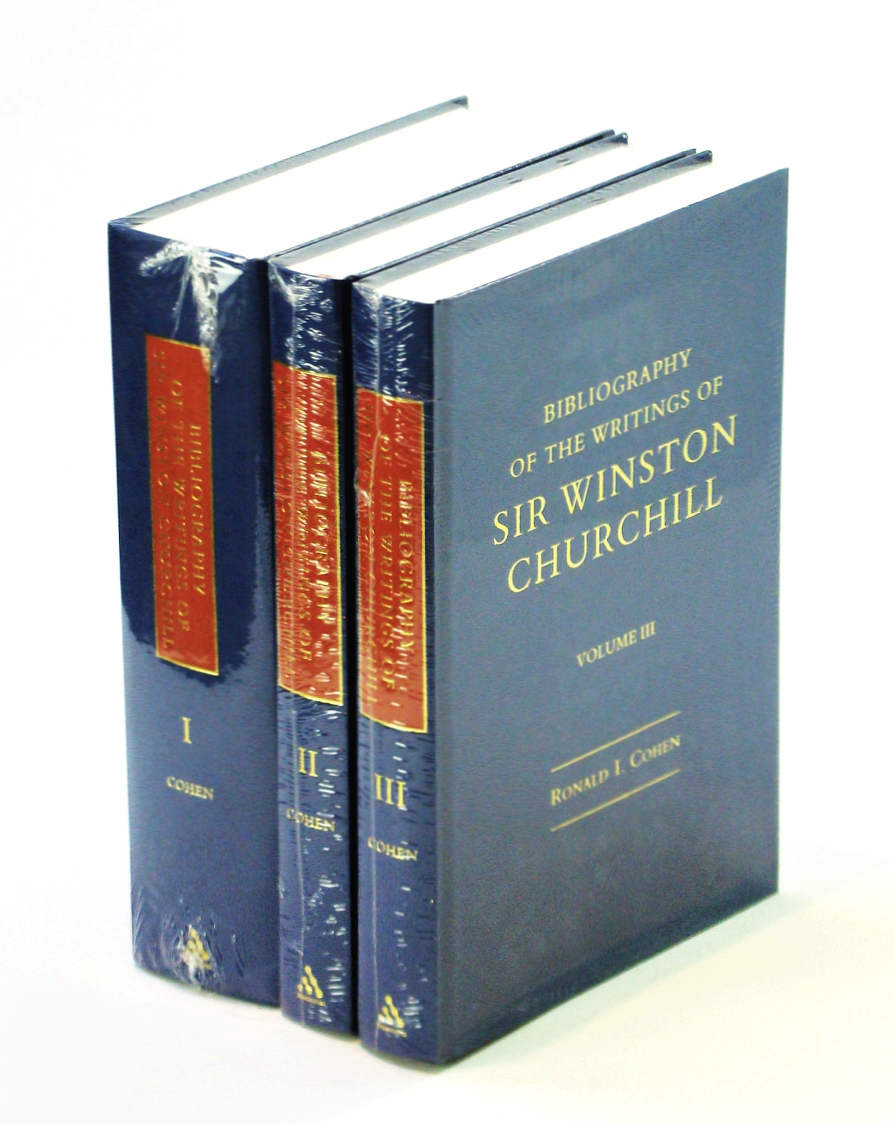 Image for Bibliography of the Writings of Sir Winston Churchill in 3 vols