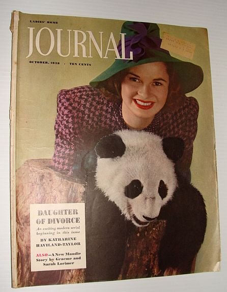 Image for Ladies' Home Journal:  October 1938
