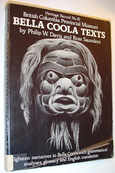 Image for Bella Coola texts (Heritage record)