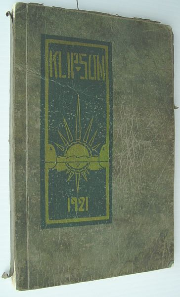 Image for The Klipsun: 1921 Yearbook of the Washington State Normal School, Bellingham, Washington