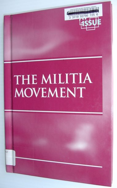 Image for The Militia Movement (At Issue)