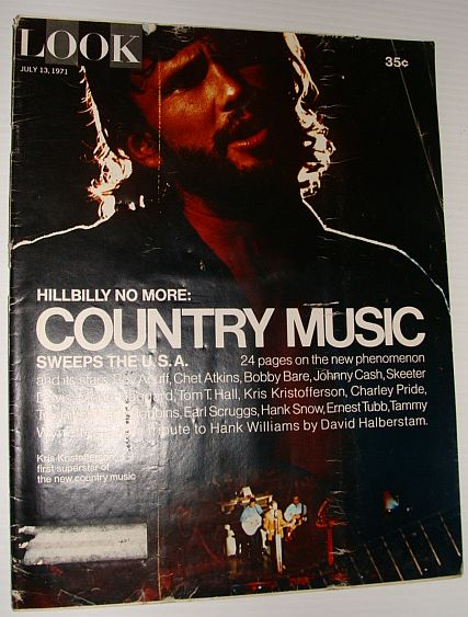 Image for Look Magazine, July 13, 1971 *Country Music Sweeps the U.S.A.*