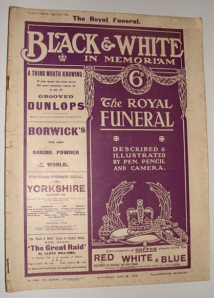 Image for Black and White May 28, 1910 *In Memoriam: The Royal Funeral of King Edward VII*