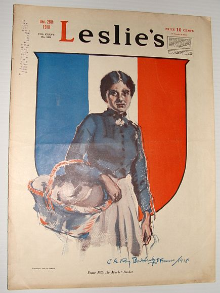 Image for Leslie's Illustrated Weekly Newspaper, December 28, 1918