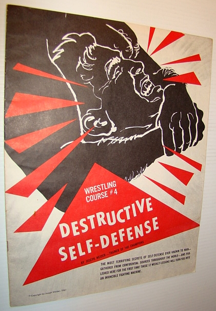 Image for Destructive Self-Defense - Wrestling Course #4 (Four)