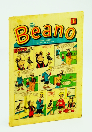 Image for The Beano, No. 1297 - May 27th, 1967 (Original British Comic)