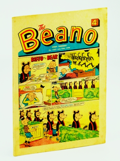 Image for The Beano, No. 1462 - July 25th, 1970 (Original British Comic)