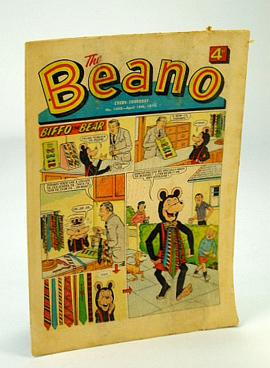 Image for The Beano, No. 1448 - April (Apr.) 18, 1970 (Original British Comic)