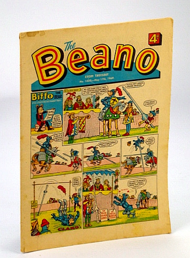 Image for The Beano, No. 1408 - May 17, 1969 (Original British Comic)