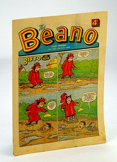 Image for The Beano, No. 1408 - February (Feb.) 15, 1969 (Original British Comic)