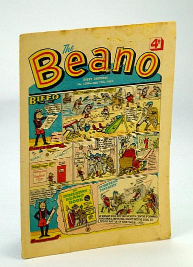 Image for The Beano, No. 1399 - May 10, 1969 (Original British Comic)