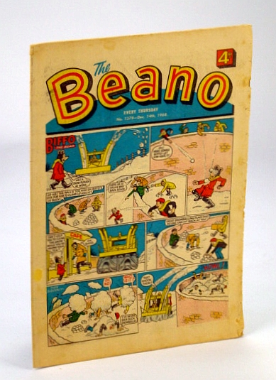 Image for The Beano, No. 1378 - December (Dec.) 14, 1968 (Original British Comic)