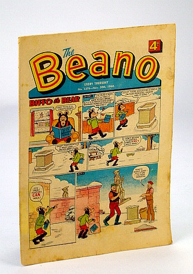 Image for The Beano, No. 1376 - November (Nov.) 30, 1968 (Original British Comic)