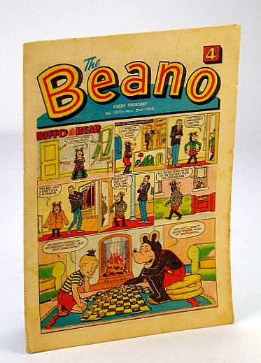 Image for The Beano, No. 1372 - November (Nov.) 2, 1968 (Original British Comic)
