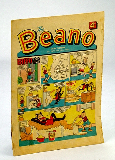 Image for The Beano, No. 1371 - 26 October (Oct.), 1968 (Original British Comic)