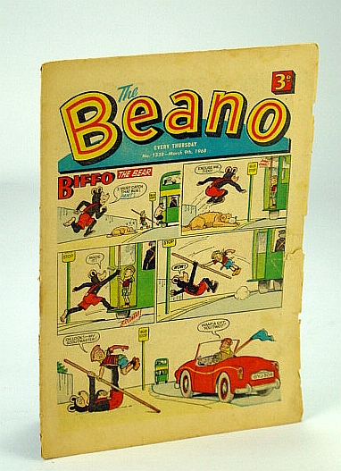 Image for The Beano, No. 1338 - 9 March (Mar.), 1968 (Original British Comic)